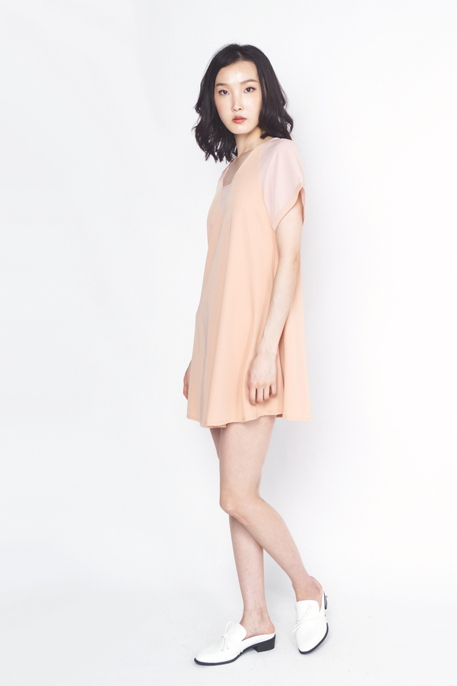 CAMELIA CHIFFON SLEEVE DRESS MELBA
