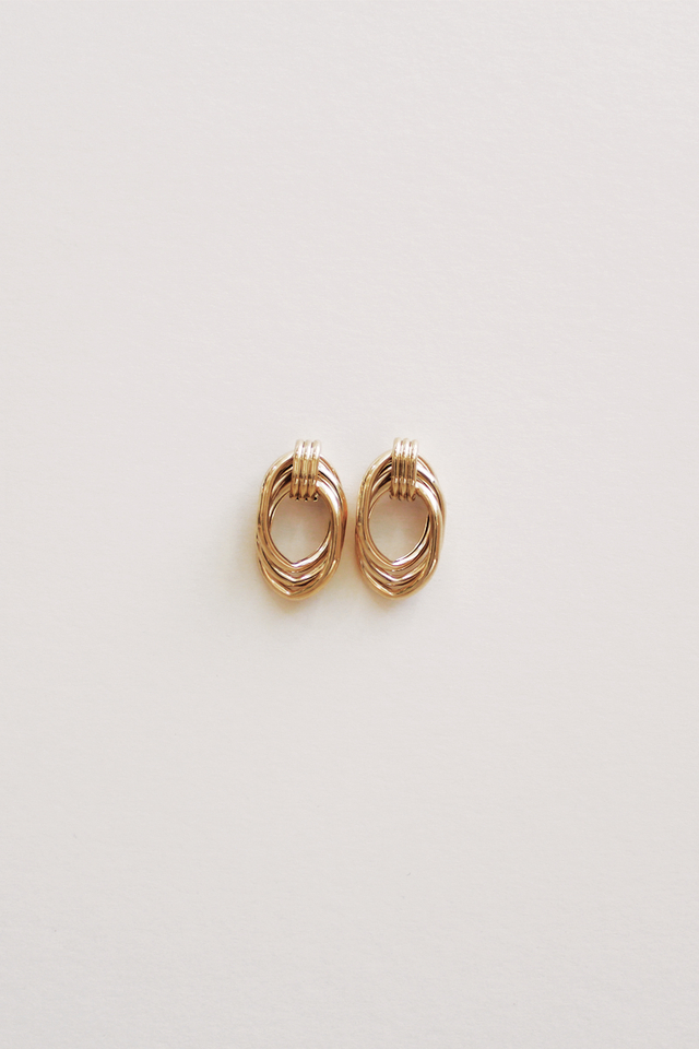CHUNKY GOLD EARRINGS