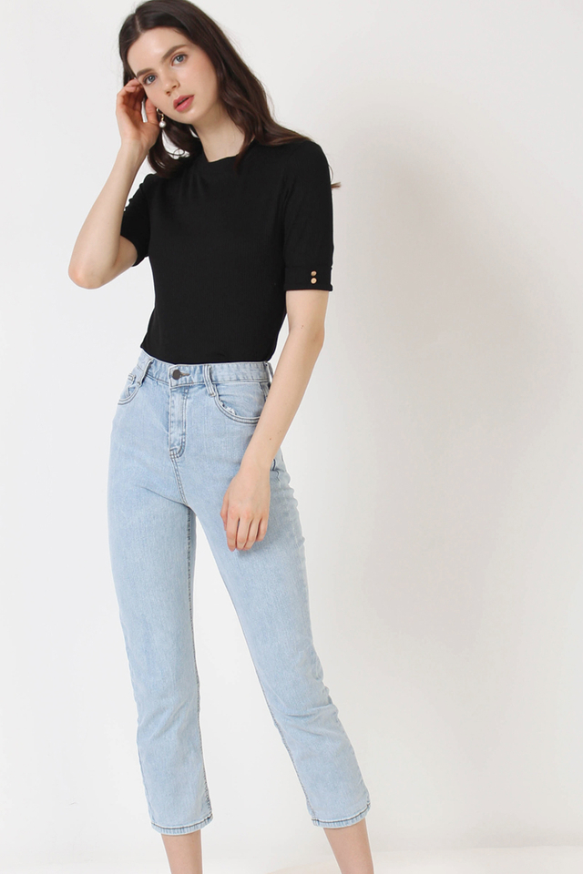 MAX HIGH RISE JEANS LIGHT (RESTOCK)