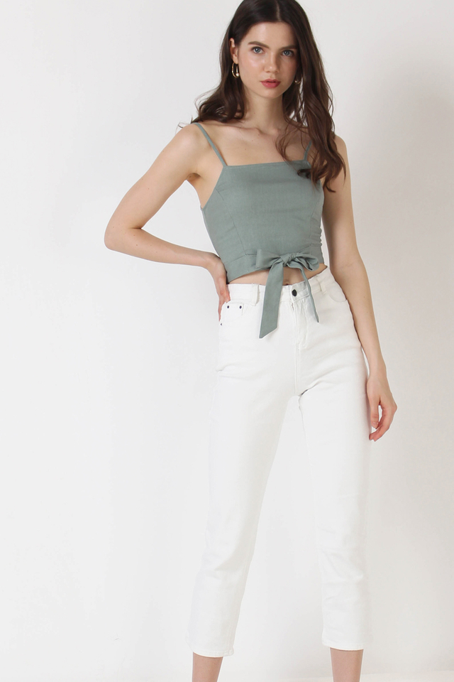 MAX HIGH RISE JEANS WHITE (RESTOCK)