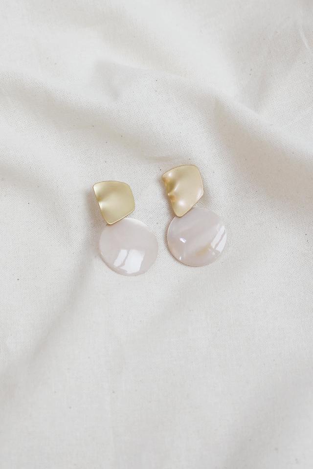RESIN DROP EARRINGS