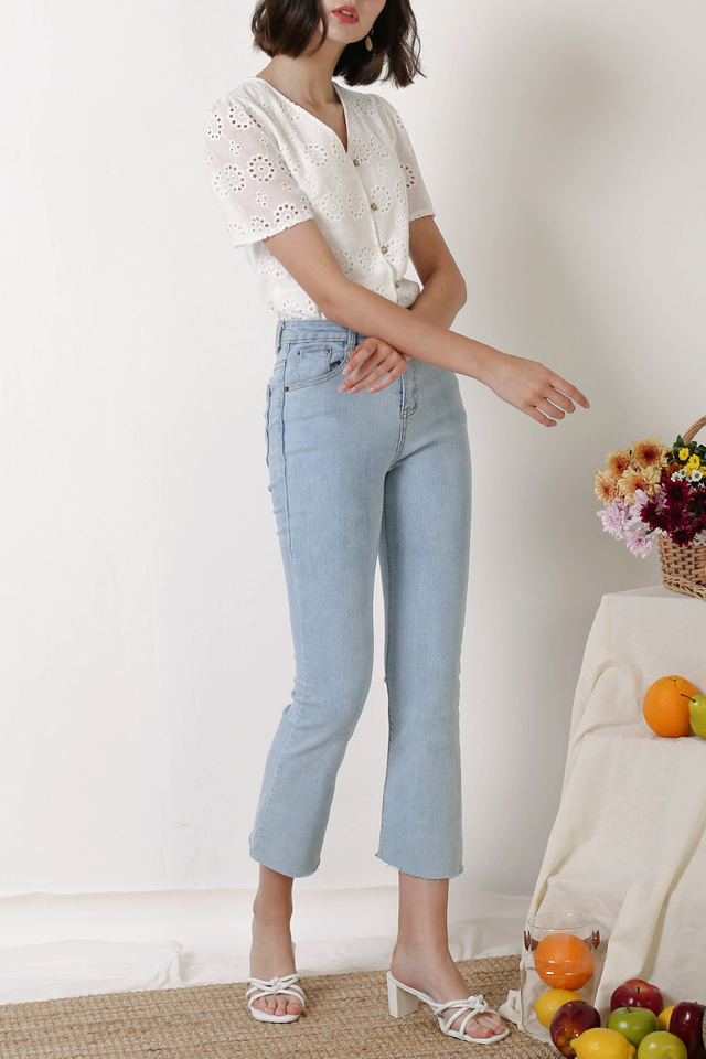 ZANE KICK FLARE JEANS LIGHT