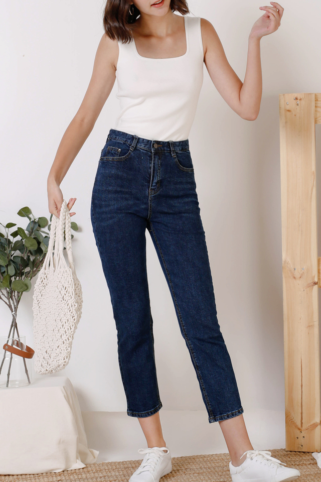 MAX HIGH RISE JEANS DARK (BACKORDER)