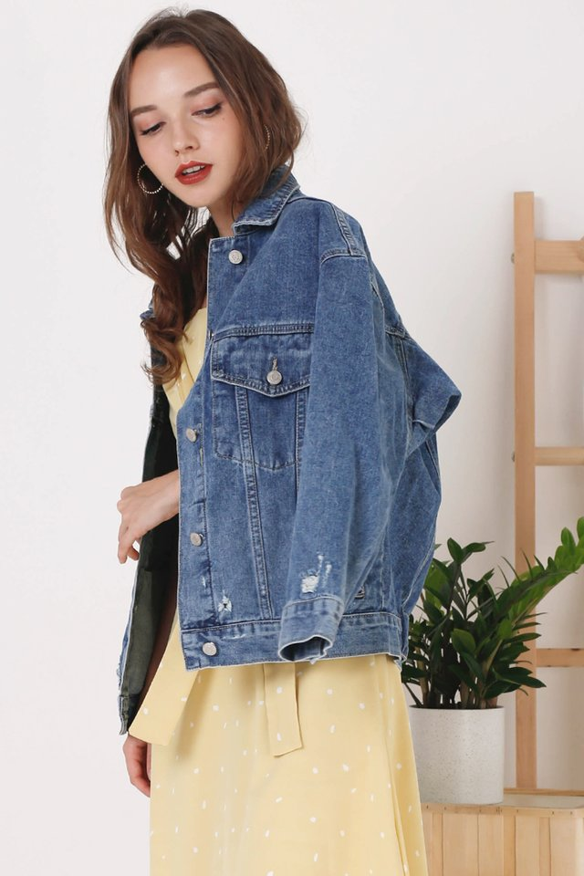 CAMILLA DENIM JACKET (BACKORDER)