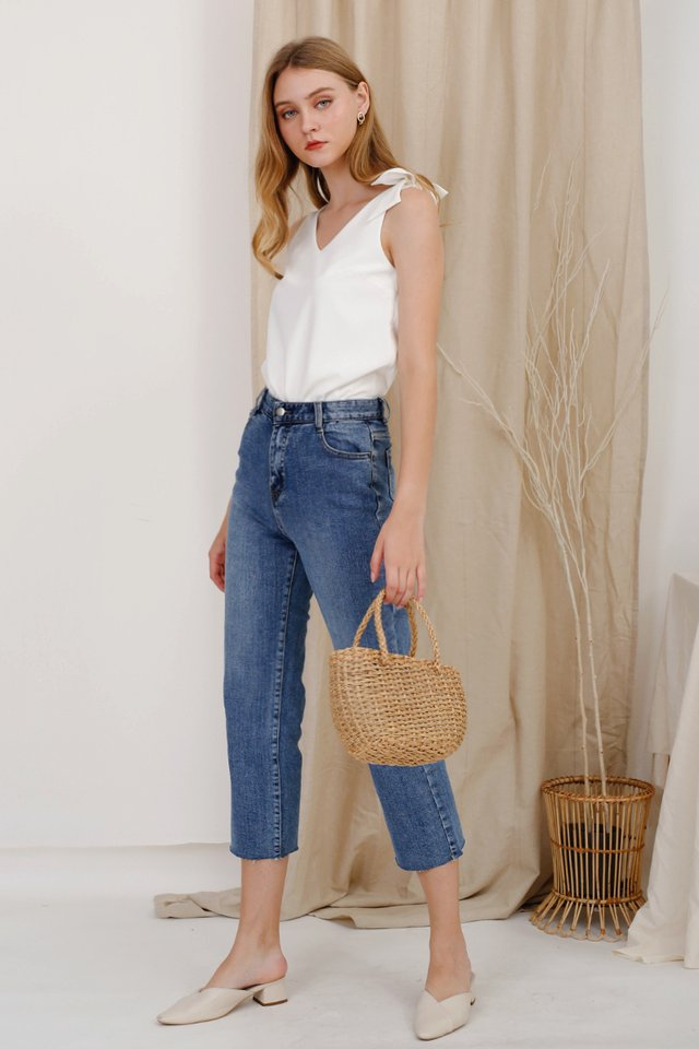 CARTER STRAIGHT LEG JEANS BLUE