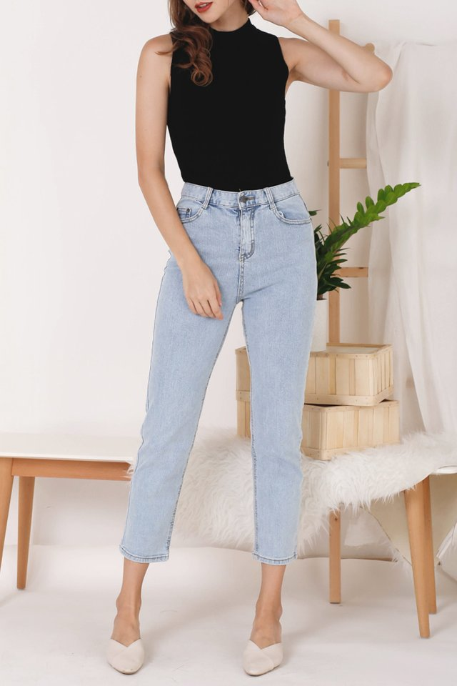 MAX HIGH RISE JEANS LIGHT
