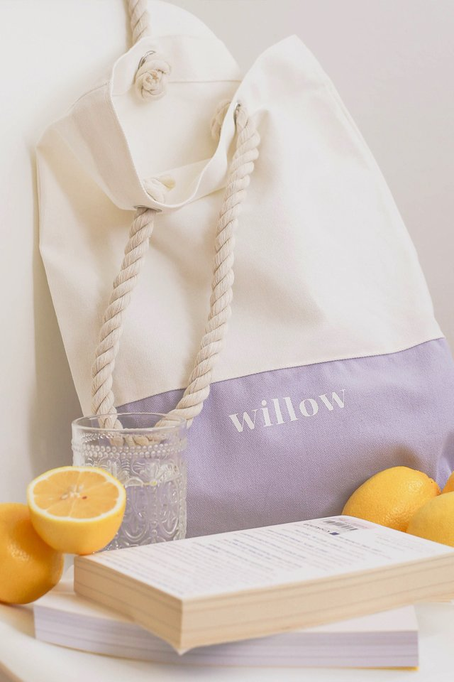 WILLOW TOTE LILAC