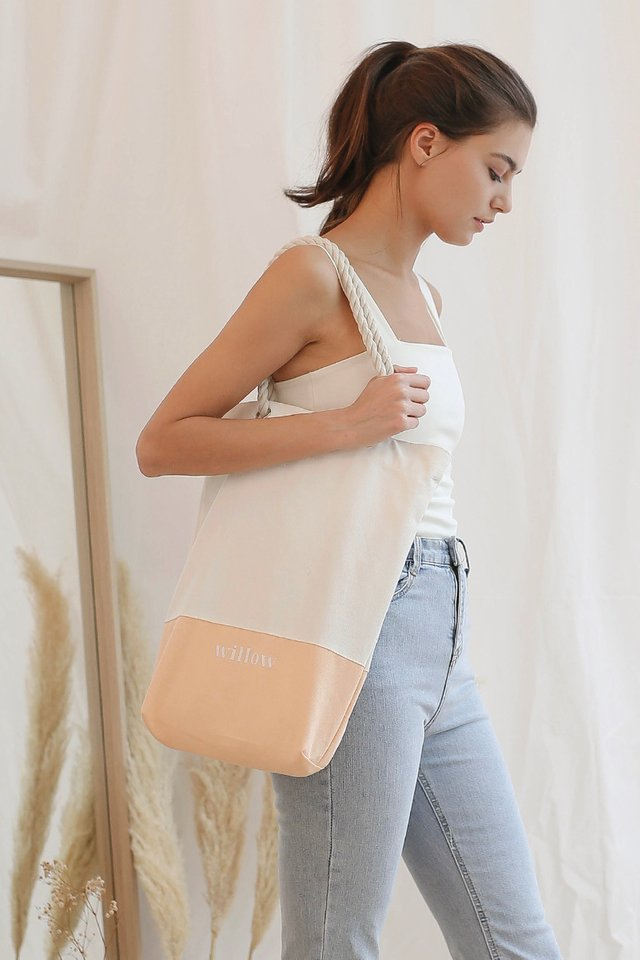 WILLOW TOTE PEACH