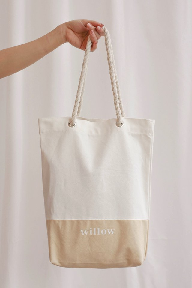 WILLOW TOTE SAND