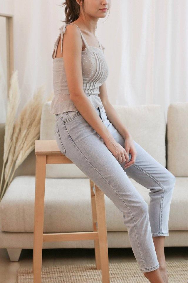 (BACKORDER) MAX HIGH RISE JEANS LIGHT