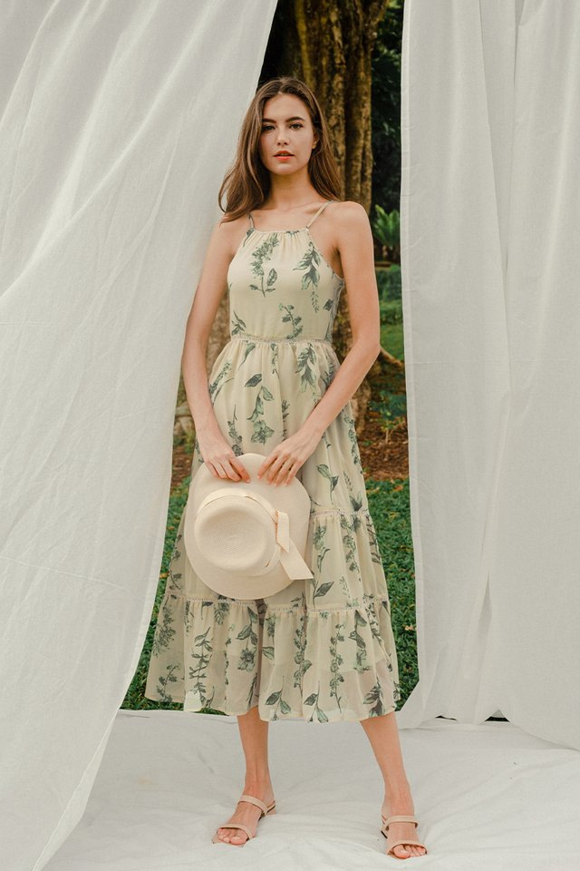 ESTELLE HALTER MAXI CREAM