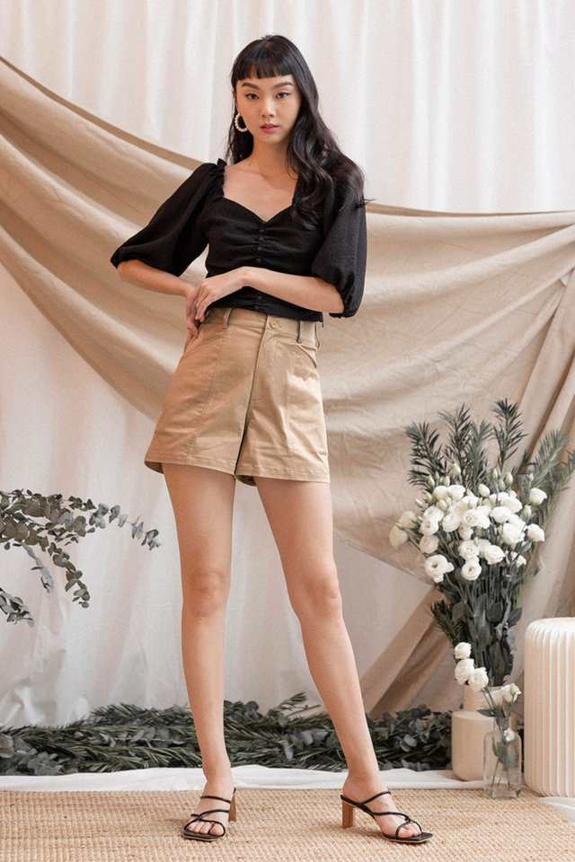 MADISON SAFARI SHORTS MOCHA